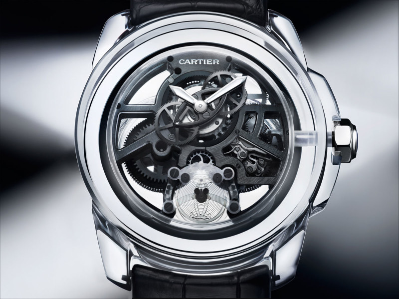 With The Cartier ID Two concept watch, Cartier setas a new milestone in the history of watchmaking