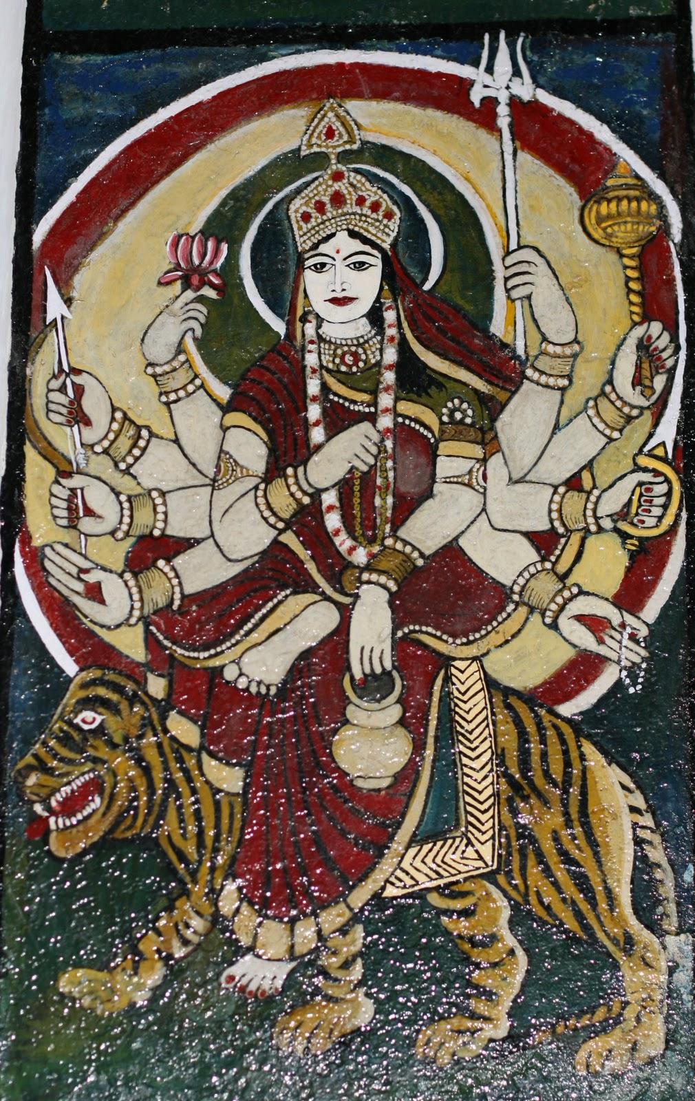 Храм Парвати, Манди